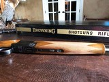 "Browning Superlight - 20ga - 1972 Man. Date - IC/M - 26.5"" - 14 1/4"" x 1 3/8"" x 2"" - 5 lbs 11 ozs - SN: 2871 V72 - In The Box! - 12 of 15"