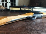 "Browning Superlight - 20ga - 1972 Man. Date - IC/M - 26.5"" - 14 1/4"" x 1 3/8"" x 2"" - 5 lbs 11 ozs - SN: 2871 V72 - In The Box! - 6 of 15"