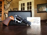 "Colt Diamondback - 22 LR - 4"" Barrel - NICE CLEAN - No issues to disclose - IN THE BOX!"