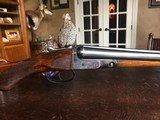 """Parker Bros. VH - 12ga - 32"""" Barrels - M/F .017 .047 - SN: 190017 - 2 1/2"""" Shells - 14 7/16"""" x 1 1/2"""" x 2 1/8"""" - Del Grego Complete Restoration - NICE - 24 of 24"""