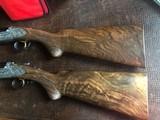 """Perazzi SCO """"C"""" - 20ga - (""""Xtras"""" Special Order Guns) - Numbered #1 and #2 - 32"""" Barrels - 15"""" x 1 1/2"""" x 2"""" - M. Gridini Engraver - .038/.027"""