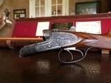 "Fr. Wilh. HEYM - 20ga - 28"" - Lightweight Game Gun - 2 3/4"" - IC/M - Double Trigger - 14 5/8"" x 1 1/2"" x 2 3/8"" - 5 lbs 12 ozs - SN: 6009 - Gorgeous!! - 4 of 25"