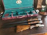 "Arrieta (Early Orvis Gun) Round Action Side Lock Ejector - Model 871 - 20ga & 12ga - 30"" Barrels - 20ga SK/IC - 12ga IM/M - Prince of Whales G"