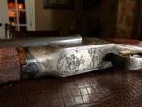 "Ithaca 4E Flues - 20ga - Ejectors - 2 3/4"" Chambers - 28"" Barrels (Steel) - ca. 1919 - 14 3/8 x 1 5/8 x 2 3/4 - 6 lbs 7 ozs - Engraved by Bill - 5 of 25"