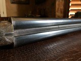 "Ithaca 4E Flues - 20ga - Ejectors - 2 3/4"" Chambers - 28"" Barrels (Steel) - ca. 1919 - 14 3/8 x 1 5/8 x 2 3/4 - 6 lbs 7 ozs - Engraved by Bill - 19 of 25"