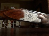 """Browning Superposed Grade IV - 28ga - RKLT - 28"""" - IC/M Chokes - 14 1/4"""" x 1 3/8"""" x 2 1/16"""" - 6 lbs 10 ozs - signed """"Mother of Fox Engraving"""" - RARE!! - 21 of 25"""