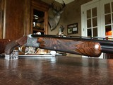 """Browning Superposed Grade IV - 28ga - RKLT - 28"""" - IC/M Chokes - 14 1/4"""" x 1 3/8"""" x 2 1/16"""" - 6 lbs 10 ozs - signed """"Mother of Fox Engraving"""" - RARE!! - 16 of 25"""