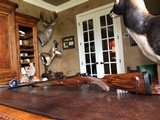 Dumoulin Custom Safari Rifle - .416 Rigby - Engraved by R. Greco - Elephant and Lion - Custom Made in Leige, Belgium - Open Sights 50/100/200