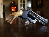 "Smith & Wesson Model 66-3 - .357 - 3"" Barrel - Gorgeous Stag Horn Grips - Tight Action - Clean Revolver - Feels Great in hand!!"