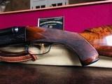 "Winchester Model 21 - 20ga - #1 Engraving Pattern -26"" Barrels - Checkered Butt - 2 3/4"" Shells - WS-1 WS-2 Chokes - 14 1/4 X 1 3/8 X 2"" - 6 lbs 9 ozs - 23 of 24"