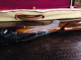 "Winchester Model 21 - 20ga - #1 Engraving Pattern -26"" Barrels - Checkered Butt - 2 3/4"" Shells - WS-1 WS-2 Chokes - 14 1/4 X 1 3/8 X 2"" - 6 lbs 9 ozs - 21 of 24"