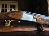 """Browning Pigeon Superlight - 28ga/.410ga 3"""" - 6 lbs 5 ozs - 14 3/8"""" x 1 3/8"""" x 2 1/4"""" - SN: 1753F7 - Maker's Case - Remarkable Condition - Rare!! - 6 of 24"""