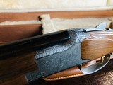 """Browning Pigeon Superlight - 28ga/.410ga 3"""" - 6 lbs 5 ozs - 14 3/8"""" x 1 3/8"""" x 2 1/4"""" - SN: 1753F7 - Maker's Case - Remarkable Condition - Rare!! - 22 of 24"""