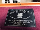 "Holland & Holland - Royal ""Pigeon"" Gun - 12ga - 30"" - 3"" - Full/Half (.019/.038) - 15"" x 1 1/2"" x 2 1/2"" - 7.7 lbs - March 17, 1958 - 13 of 25"