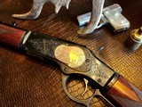 Winchester Model 1873 - .44-40 cal. - Angelo Bee Engraved - New/Unfired - Purchased in the White and sent off to Angelo for this Beautiful Artistry!!