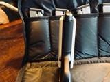 Republic Forge 1911 Commander - .38 Super - Custom Damascus Slide - True Ivory Grips - Star-Pierced Hammer - Graphite Black Frame and Controls CUSTOM - 13 of 21