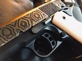 Republic Forge 1911 Commander - .38 Super - Custom Damascus Slide - True Ivory Grips - Star-Pierced Hammer - Graphite Black Frame and Controls CUSTOM - 3 of 21