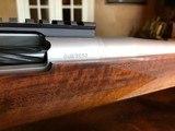 D. Dury Custom 7MM-08 - Black Feathercrotch Walnut - Crisp trigger - Custom from Butt to Barrel - Beautiful - 14 of 18