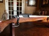 D. Dury Custom 7MM-08 - Black Feathercrotch Walnut - Crisp trigger - Custom from Butt to Barrel - Beautiful - 17 of 18