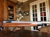 D. Dury Custom 7MM-08 - Black Feathercrotch Walnut - Crisp trigger - Custom from Butt to Barrel - Beautiful - 6 of 18