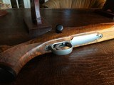 D. Dury Custom 7MM-08 - Black Feathercrotch Walnut - Crisp trigger - Custom from Butt to Barrel - Beautiful - 10 of 18