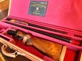"""Winchester Model 21 - 28ga/20ga Two Barrel - 26"""" - WS1-WS2 - Leather Maker's Case - Rare Configuration in Wonderful Condition"""