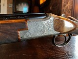 """Browning Superposed Superlight Exhibition D5G - 20ga - 26.5"""" - F/F - E. Vos engraved - This is a Fine Shotgun - 24 of 25"""