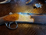 """Browning Superposed Superlight Exhibition D5G - 20ga - 26.5"""" - F/F - E. Vos engraved - This is a Fine Shotgun - 5 of 25"""