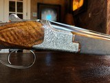 """Browning Superposed Superlight Exhibition D5G - 20ga - 26.5"""" - F/F - E. Vos engraved - This is a Fine Shotgun - 13 of 25"""