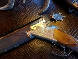 """Browning Superposed Superlight Exhibition D5G - 20ga - 26.5"""" - F/F - E. Vos engraved - This is a Fine Shotgun"""