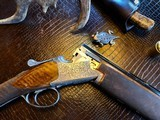 """Browning Superposed Superlight Exhibition D5G - 20ga - 26.5"""" - F/F - E. Vos engraved - This is a Fine Shotgun - 2 of 25"""