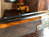 """Browning Superposed Superlight Exhibition D5G - 20ga - 26.5"""" - F/F - E. Vos engraved - This is a Fine Shotgun - 23 of 25"""