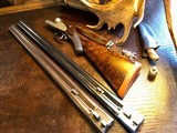 """Stephen Grant & Sons Best SLE - 12ga - 2 Barrel - 28"""" Damascus and 30"""" steel -Outstanding Condition - ca. Early 1900s - 2 3/4"""" Chambers - 4 of 25"""