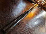 """Stephen Grant & Sons Best SLE - 12ga - 2 Barrel - 28"""" Damascus and 30"""" steel -Outstanding Condition - ca. Early 1900s - 2 3/4"""" Chambers - 24 of 25"""