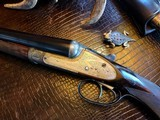 """Stephen Grant & Sons Best SLE - 12ga - 2 Barrel - 28"""" Damascus and 30"""" steel -Outstanding Condition - ca. Early 1900s - 2 3/4"""" Chambers - 16 of 25"""