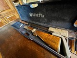 "Beretta Silver Pigeon II - 20ga - 26.5"" Barrels - IC/M/F Mobile Chokes - 5.15 lbs - 2 3/4-3"" Shells - Clean Shotgun - Deep Relief Engraved Game Scene - 22 of 22"