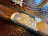 "Beretta Silver Pigeon II - 20ga - 26.5"" Barrels - IC/M/F Mobile Chokes - 5.15 lbs - 2 3/4-3"" Shells - Clean Shotgun - Deep Relief Engraved Game Scene"