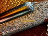 "Purdey & Sons 28ga - 28"" - ca. 2002 - Small Frame Side By Side Ultra Rounded BAR - DT - 5.6 lbs - Splinter Forend - Cecile Flohimont Engraved - 6 of 25"