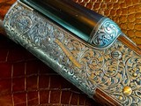 "Purdey & Sons 28ga - 28"" - ca. 2002 - Small Frame Side By Side Ultra Rounded BAR - DT - 5.6 lbs - Splinter Forend - Cecile Flohimont Engraved - 9 of 25"