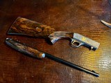 Browning SA22 Belgium Takedown - .22 Long Rifle - Angelo Bee - All Custom - Extra Lusso Grade Deep Relief Engraving - Fine! - 6 of 24