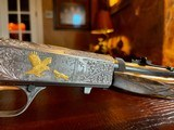 Browning SA22 Belgium Takedown - .22 Long Rifle - Angelo Bee - All Custom - Extra Lusso Grade Deep Relief Engraving - Fine! - 12 of 24