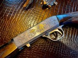 Browning SA22 Belgium Takedown - .22 Long Rifle - Angelo Bee - All Custom - Extra Lusso Grade Deep Relief Engraving - Fine! - 2 of 24