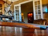 Joh. Springer Erben Custom - True Mauser Action - .257 Roberts - Double Set Tigger - Double Safety - Rare Rifle Rare Maker - Beautiful Marksman Rifle - 12 of 25