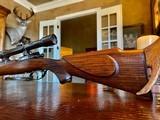 Joh. Springer Erben Custom - True Mauser Action - .257 Roberts - Double Set Tigger - Double Safety - Rare Rifle Rare Maker - Beautiful Marksman Rifle - 6 of 25