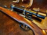 Joh. Springer Erben Custom - True Mauser Action - .257 Roberts - Double Set Tigger - Double Safety - Rare Rifle Rare Maker - Beautiful Marksman Rifle - 1 of 25