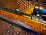 Joh. Springer Erben Custom - True Mauser Action - .257 Roberts - Double Set Tigger - Double Safety - Rare Rifle Rare Maker - Beautiful Marksman Rifle - 22 of 25