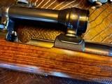 Joh. Springer Erben Custom - True Mauser Action - .257 Roberts - Double Set Tigger - Double Safety - Rare Rifle Rare Maker - Beautiful Marksman Rifle - 10 of 25