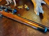 Joh. Springer Erben Custom - True Mauser Action - .257 Roberts - Double Set Tigger - Double Safety - Rare Rifle Rare Maker - Beautiful Marksman Rifle - 25 of 25