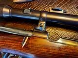 Joh. Springer Erben Custom - True Mauser Action - .257 Roberts - Double Set Tigger - Double Safety - Rare Rifle Rare Maker - Beautiful Marksman Rifle - 11 of 25