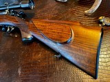 Joh. Springer Erben Custom - True Mauser Action - .257 Roberts - Double Set Tigger - Double Safety - Rare Rifle Rare Maker - Beautiful Marksman Rifle - 23 of 25